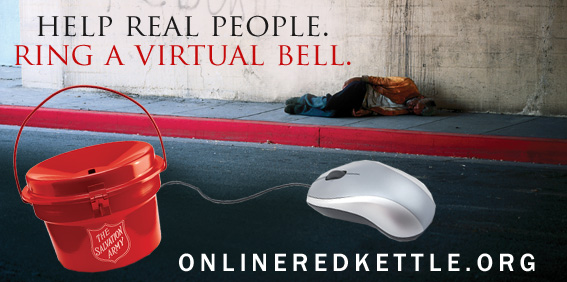 Donate this Holiday Season - Online Red Kettle